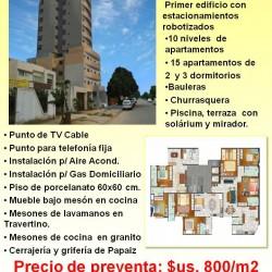 Apartamento en venta barrio Hamacas Ultimo