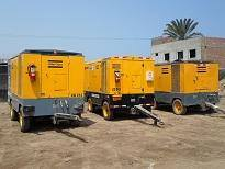 Renta de compresor Atlas Copco 750 cfm 8.6 bar