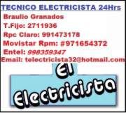 ELECTRICISTA **PROFESIONAL 24HRS** Miraflores